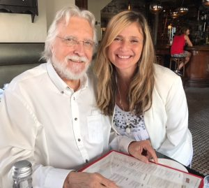 Lea with author , Neale Donald Walsch